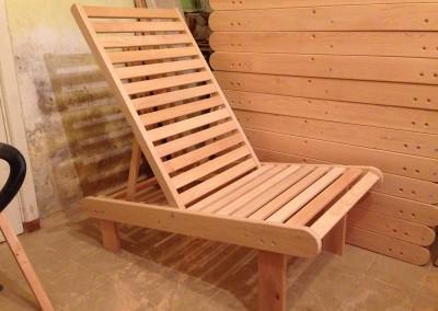 Woodesing medinis krėslas
