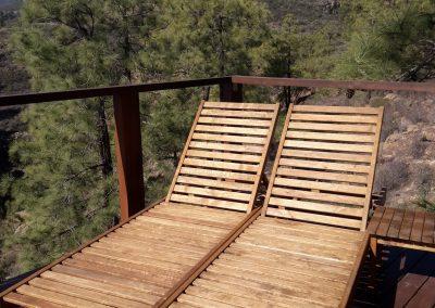 Woodesign Mediniai gultai Tenerifėje