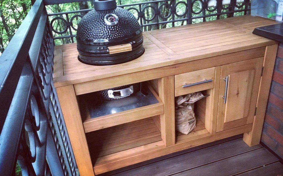 Kamado griliaus stalas
